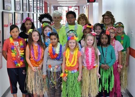 DRUG FREE BULLDOGS ON HAWAIIAN DAY! ALOHA!