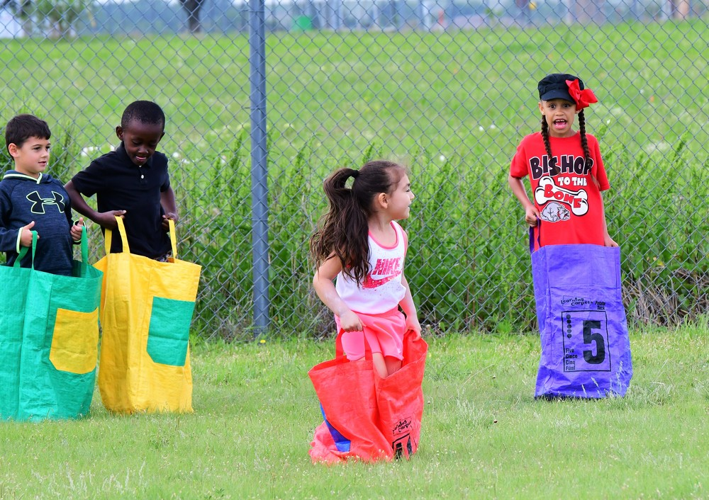 LOTS OF FUN ON FIELD DAY!