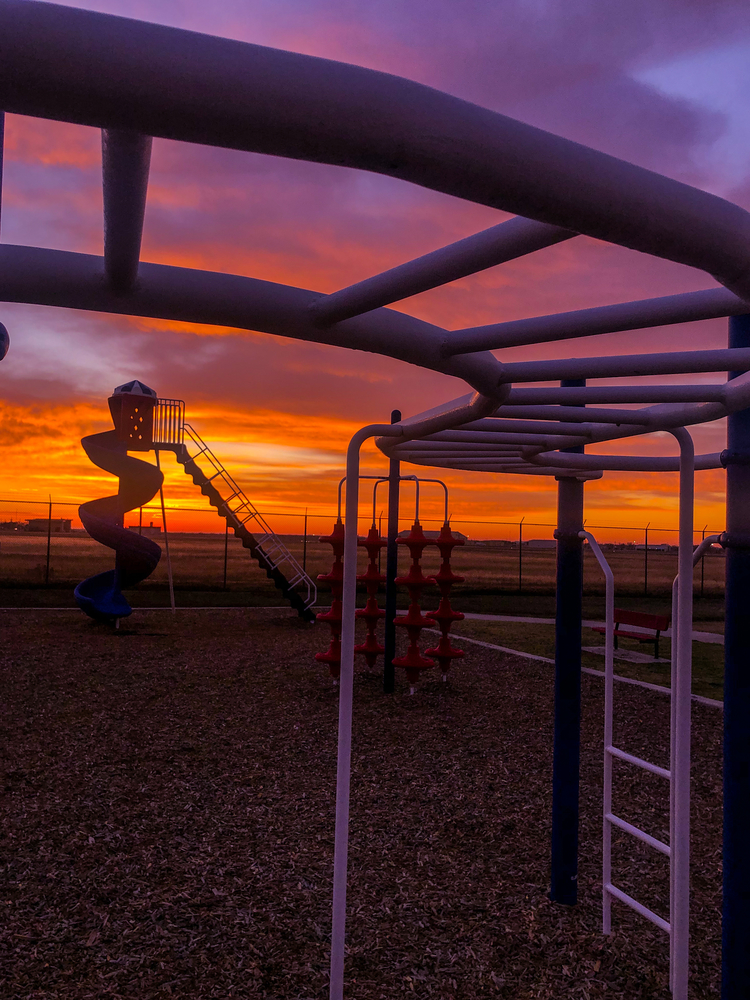 Tornado Slide Sunrise!