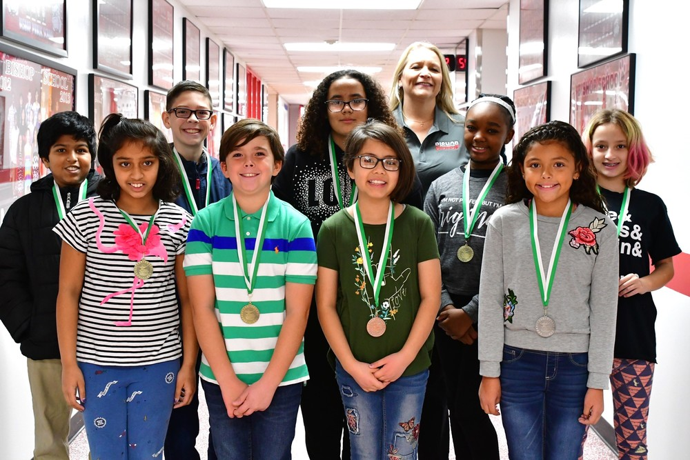 CONGRATULATIONS GEOGRAPHY BEE WINNERS 4TH - 6TH GRADE