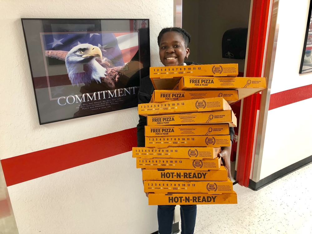 6TH GRADE PIZZA FUNDRAISER