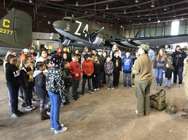 BULLDOGS LEARNING ABOUT WORLD WAR II